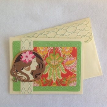 Art Nouveau Card