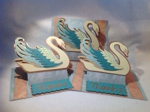 Swan Thank-you Card